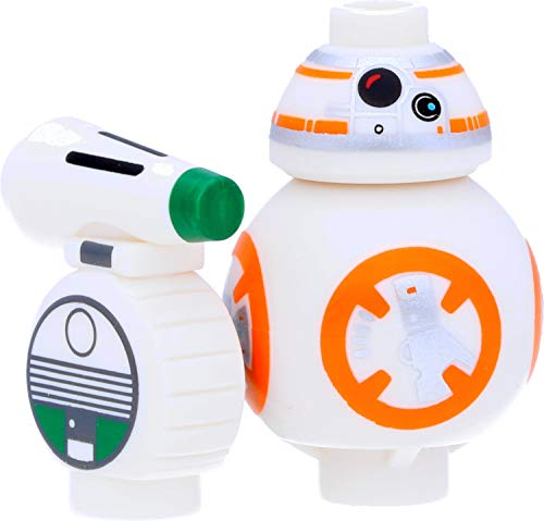 LEGO Star Wars - Figura de DO y BB-8 (droide)