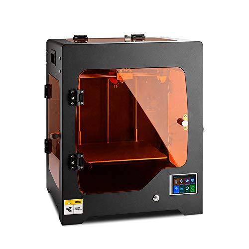 QPLNTCQ Imprimante 3D Imprimante 3D Nouvelle Machine d'impression Couleur FDM Mise à Niveau de la Technologie DIY Reprap Compatible avec Le micrologiciel Marlin Rampes Haute résolution