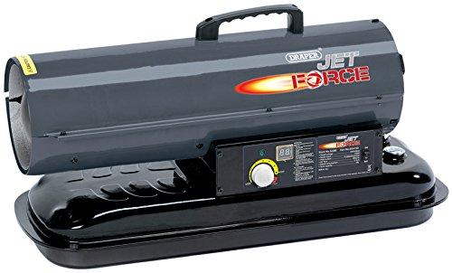 Draper 32286 Jet Force Diesel and Kerosene Space Heater, 22KW
