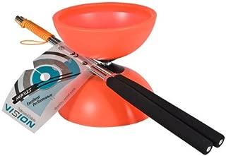 Diabolo Henrys J0405003–Yo-Yo Vision Set, Including Hand–Red