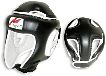 Playwell Kopfschutz für Box-Wettkämpfe B003OJ1AVM   | Feinen Qualität