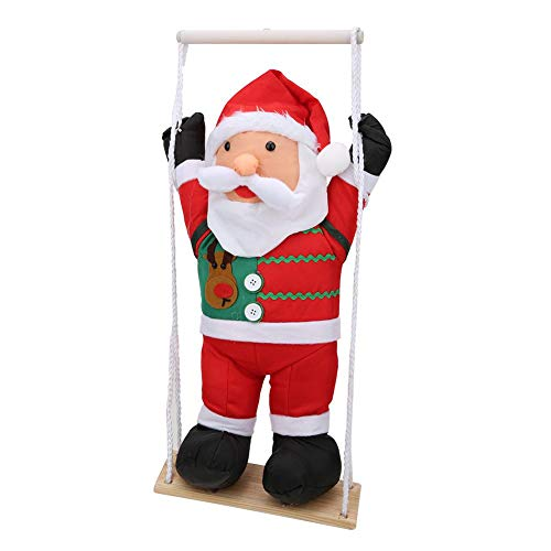 Cute Christmas Hanging Toy, Hanging Toy, Comfortable Stylish Look Christmas Decoration for Santa Claus Christmas Doll(60cm New Swing)