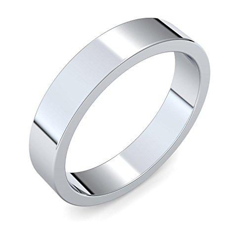 Eheringe einzeln mit GRATIS GRAVUR & LUXUSETUI Eheringe Silber 925 Hochzeitsringe Trauringe Silber Eheringe günstig Silber Eheringe mit Gravur hochwertig modern ER83 SS92564