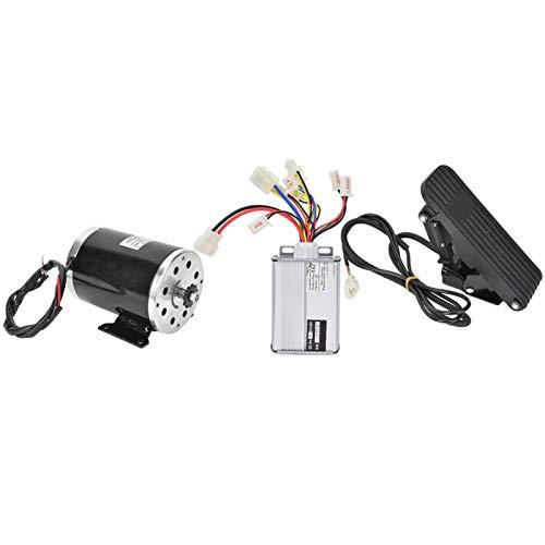 Pwshymi Motorroller Motorsteuerung Pedalbürste Elektromotor 3PCS Aluminiumlegierung für elektrische Dreiräder