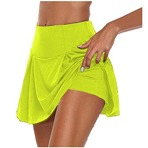 N\P Gimnasio Mujeres Correr Pantalones Cortos De Cintura Alta Pantalones Cortos De Malla Doble
