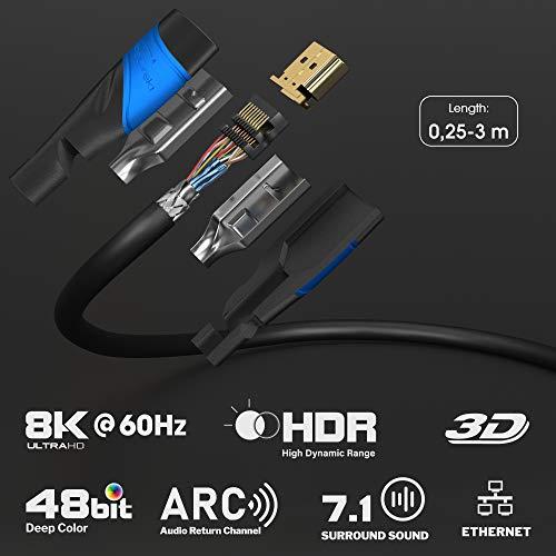 KabelDirekt – HDMI 2.0a (Ultra HD, 4K, 3D, Full HD, 1080p) 2m - 2