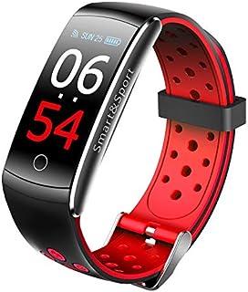 Fitness Tracker - Reloj deportivo con pulsómetro, resistente al agua IP68, pantalla a color, táctil, unisex.