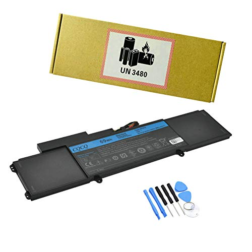 CQCQ 4RXFK Battery for Dell Ultrabook XPS L421x...