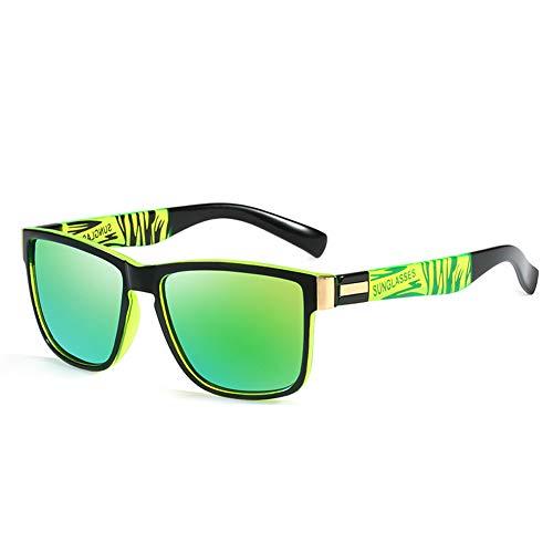 Liangzai Gafas de Sol, Gafas Deportivas polarizadas con protección UV para Hombres, Gafas cómodas, Ligeras y duraderas