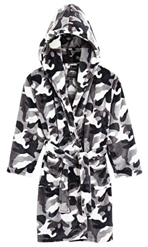 CityComfort Dressing Gown Kids, Camouflage Dressing Gown for Boys, Camo...