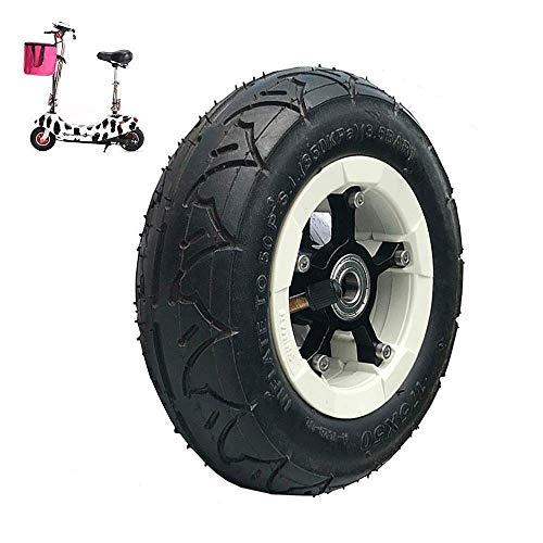 Neumáticos, Neumáticos de Scooter eléctrico, Ruedas Completas de 8 Pulgadas, Neumáticos, Radios de aleación de Aluminio, Ruedas de plástico, Adecuado para monopatín para equilibrar el Coche