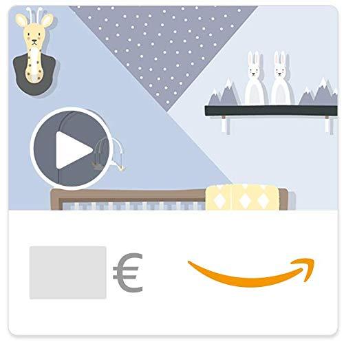 Digitaler Amazon.de Gutschein mit Animation (Baby)