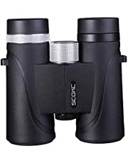 SCOKC 10x42 Professional Waterproof Binoculars, Best Choice for Travelling, Hunting, Sports Games and Outdoor Activities, Extremely Clear and Bright
