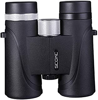 SCOKC 10x42 Professional Waterproof Binoculars, Best Choice for Travelling, Hunting, Sports Games and Outdoor Activities, ...