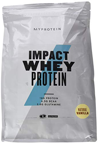 Myprotein Impact Whey Protein Natural Vanilla 2500g