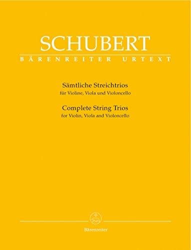 Streichtrios (Zweite Fassung). Violine, Viola, Violoncello