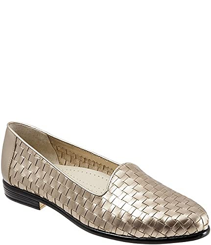 [トロッターズ] シューズ 26.5 cm パンプス Liz Woven Block Heel Loafers Pewter レディース [並行輸入品]