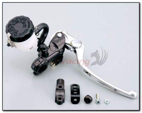 Pompa freno anteriore radiale NISSIN 19mm Nera Honda Kawasaki Suzuki Yamaha art. MCBR19NB NERA