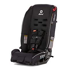 JOY OF THE JOURNEY: From birth, keep your little one rear-facing longer to 40 lbs., and as they grow to 100 lbs. (10 years approx.) our long-range lifespan protects your child facing-forward. THREES NOT A CROWD: For safety that fits 3 across the Radi...