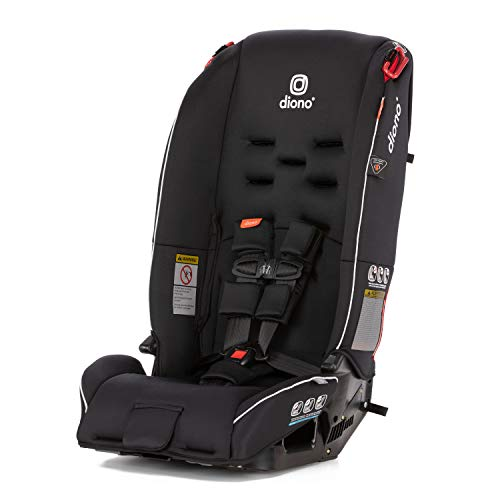 Diono Radian 3R All-in-One Convertible Car Seat, Black