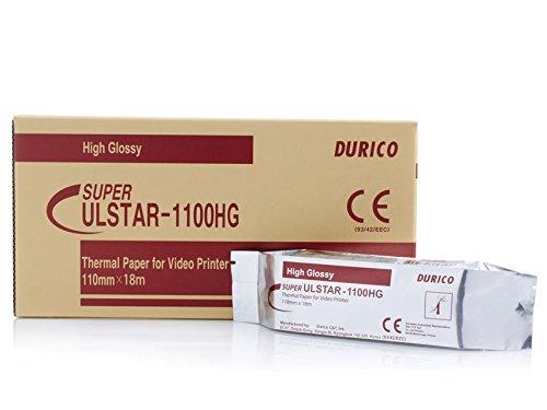 Carta Videostampante Durico Compatibile per Upp-110Hg, K91Hg, Kp91Hg, Confezione da 5