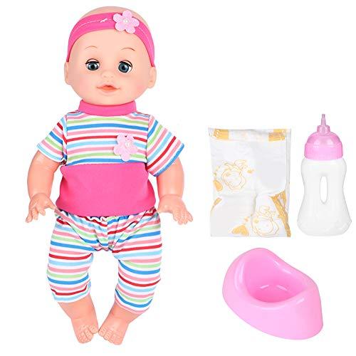 Giocattolo per bambole, giocattolo per bambole dalla trama fine della pelle, regali di compleanno per vestiti sostituibili di(SY004-10 powder)