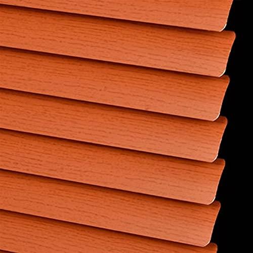 cortina ventana pequeña Oficina imitación de la textura de madera de la textura de la textura Soporte para requisitos particulares, las persianas del rodillo del apagón del hogar se pueden per