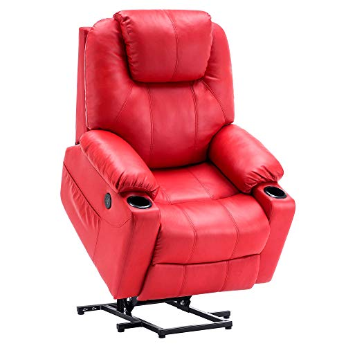 Mcombo Electric Power Lift Recliner Chair Sofa with Massage...