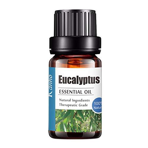 Luccase 10ml Aromatherapieöle Essential 100% Pure Natural Aromatherapy Ätherisches Öl Flasche Bunte Aroma Unilateral Geschenkset für Diffuser Ölbrenner Bad Zubehör (L)