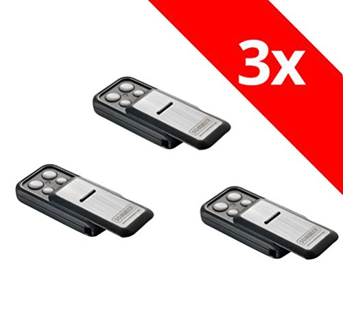 3 x Sommer Handsender Slider+ Slider S10305 TX40-868-4 Funksender Garagentor Fernbedienung 868,8 Mhz 868,95 Mhz Base+ Pro+ Torantrieb