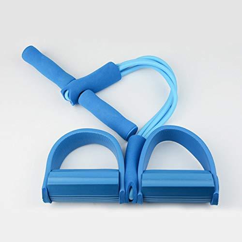 WWVAVA Elastische Zugseile zum Trainieren von Rudern, Bauch, Widerstandsband für Zuhause, Fitnessstudio, Sport, Training, elastische Bänder für Fitnessgeräte, grün