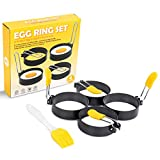 Circle Egg Ring Egg Round Set Stainless Steel...