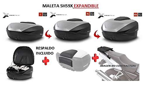 SHAD Kit BAUL Maleta Trasero SH59X litros + FIJACION +