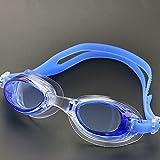 JIEGFUW Gafas de natación Gafas de natación Infantil Profesional...