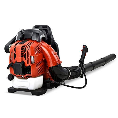 LiRongPing Backpack Blower 4 Stroke Industrial Air Blower Engine Petrol Snow Blower Best Garden Blow 4 Cycle Leaf Purpose