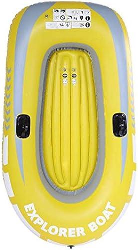 SHIJING 1 2 Personne canot de Kayak Gonflable 55   90kg Aviron Bateau pneumatique Double Valve dérive plongée Bateau Gonflable Bateau de pêche,1