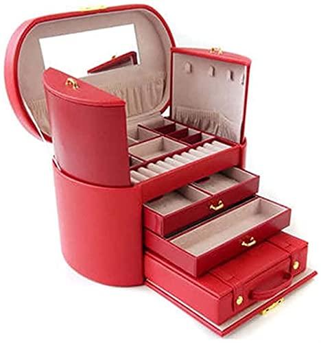 DAJIBABOY Enceinte Jewelry Organizer de Diferentes Maneras para Todas Las Joyas de joyería inflexible joyería organizadora
