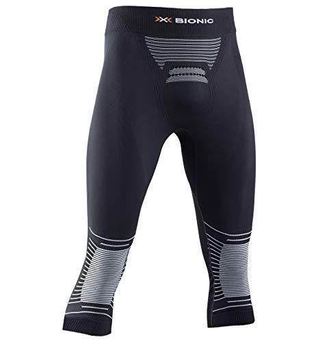 X-BIONIC Energizer 4.0 Pantalon 3/4 pour Homme M Noir/Blanc
