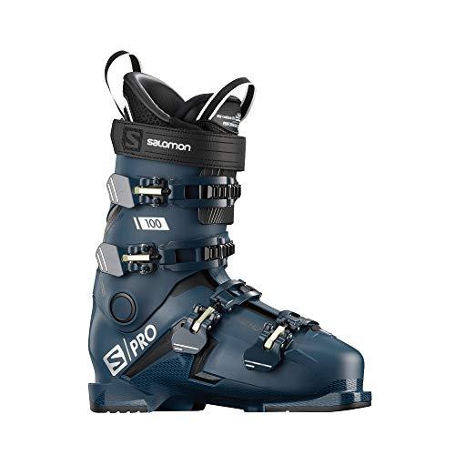 SALOMON(サロモン) スキー ブーツ 2019-20年モデル S/PRO 100 (エス/プロ 100) L40873800 Petrol Blue/BLACK/Palekaki 27/27.5