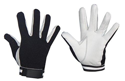 Lisaro unihockey Handschuhe/Die Top-Handschuhe auch für Torhüter/Echtleder Handschuhe (S)