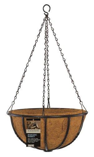 Gardman 01405 Blacksmith Vaso Pensile, 35 cm/14 Pollici