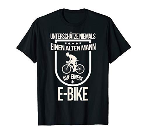 E-Bike Herren Spruch Elektrofahrrad Mann Fahrrad T-Shirt T-Shirt
