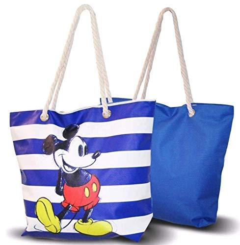 Mickey Mouse Mickey Young Teenager Strandtasche Freizeit und Sportwear Kinder Jugend Unisex Mehrfarbig (Mehrfarbig), Einheitsgröße