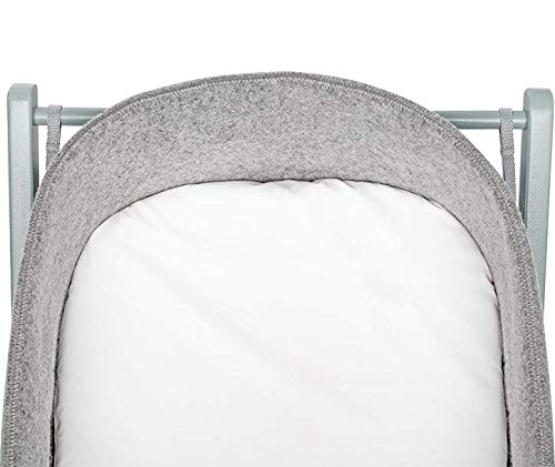 moKee WoolNest Fitted Sheet, White