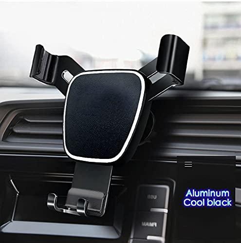 MemeHo® Mobile Holder for Car 2021 Upgraded Gravity Car Mobile Holder, Easy Use & Anti-Falling Off Car Phone Holder, Compatible with 4.7-7.2 inch Mobile Holder for Car AC Vent (Black)