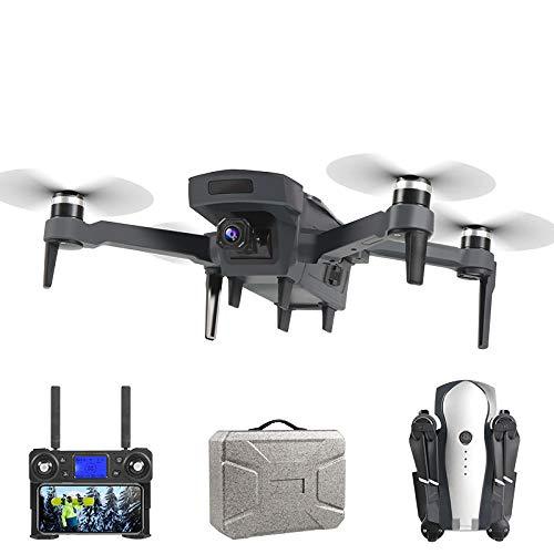 DASLING K20GPS UAV Plegable sin escobillas 4K Fotografía aérea Quadrocopter Posicionamiento de Flujo óptico Retorno Inteligente a casa Aviones de Control remoto-K20 4K Negro