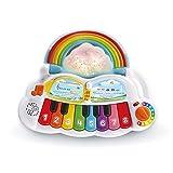 VTech - Piano Arc En Ciel Lumi Magique – Jouet Piano Bébé / 1-3 Ans – Version FR