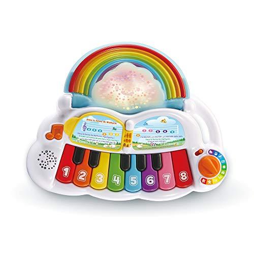 Vtech – Piano Regenbogen Lumi Magic – Spielzeug Klavier Baby / 1-3 Jahre – französische Version