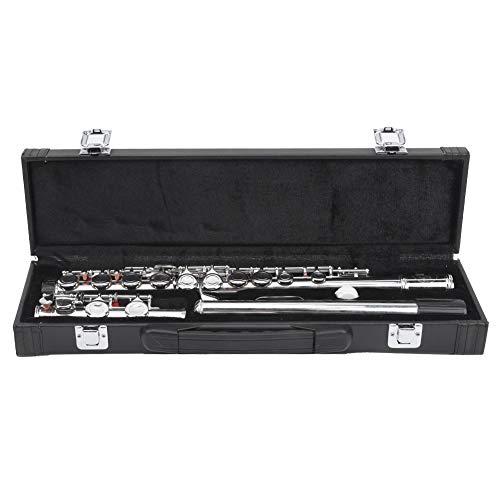 Flauta profesional con estuche de almacenamiento para estudiantes principiantes y adultos