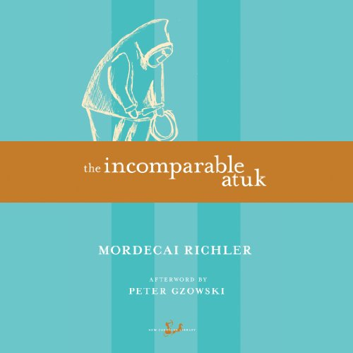 The Incomparable Atuk audiobook cover art
